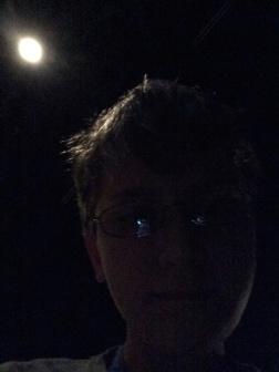 Really Dark Selfie