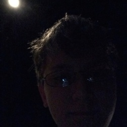 Really Dark Selfie